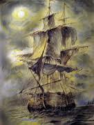 kapal hantu lady lovibond yang sangat menyeramkan