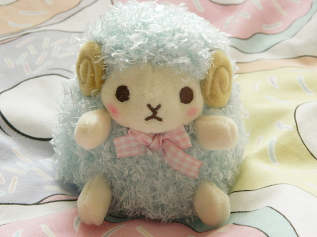 Amuse Wooly Sheep Plush, Amuse Plushies, Amuse Plush,