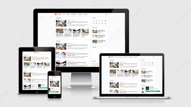 cleanify blogger template