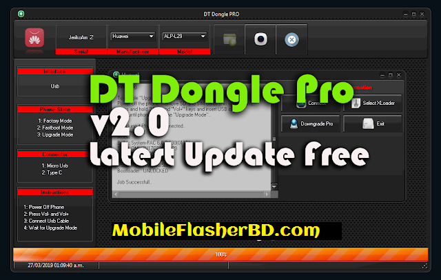 Download DT Dongle Pro v2.0 Latest Update Unlock Tool Free For All Without Password