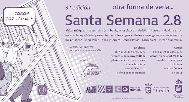 Exposición Fotográfica 'Santa Semana 2.8' del 15 al 30 de abril en Ceuta