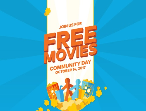 Cineplex Free Movies on Community Day
