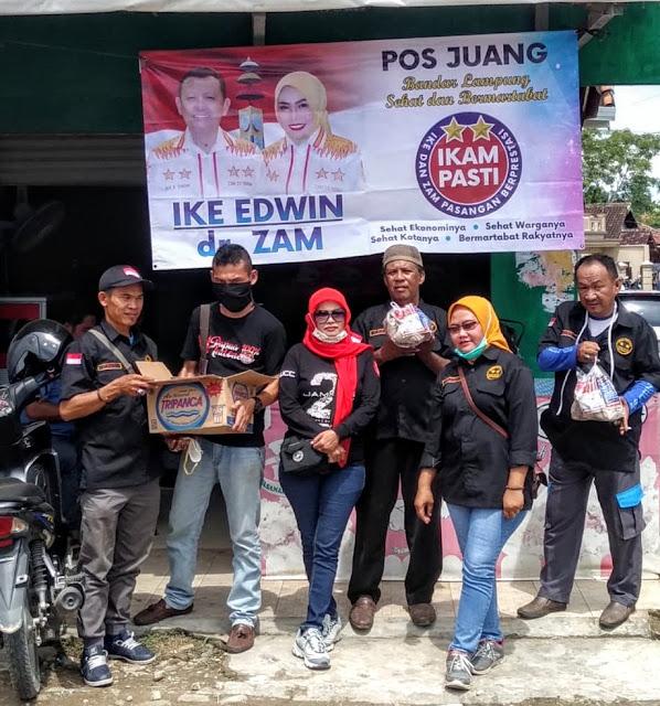 IKAM mendirikan Posko bantuan peduli banjir kawasan Pesisir Telukbetung, Bandarlampung