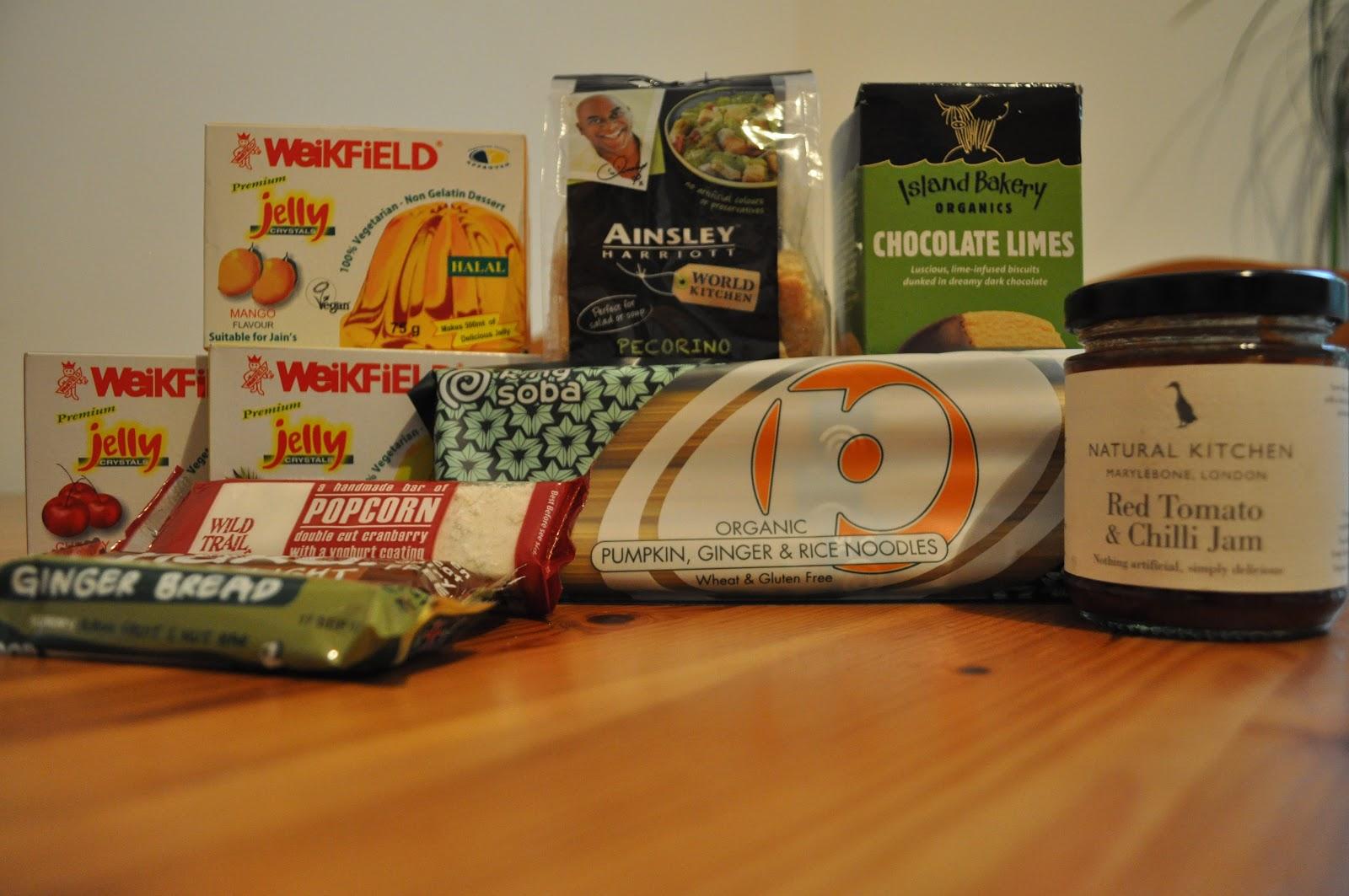Foodie Penpals October (Rebecca)