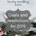 The Twenty-Something Series: Goals and Resolutions for 2019