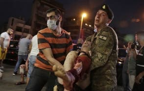 Se elevan a 73 las muertes causadas por explosión en Beirut y a 3,700 los heridos