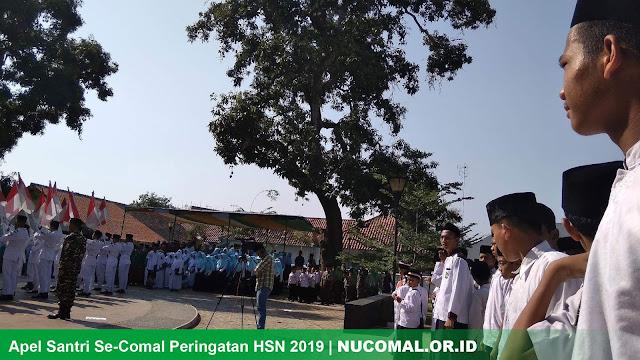 Apel Santri Comal Hari Santri Nasional 2019