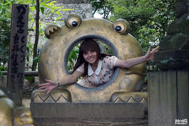 Nyoirin-ji (Kaeru-dera), a frog temple in Fukuoka