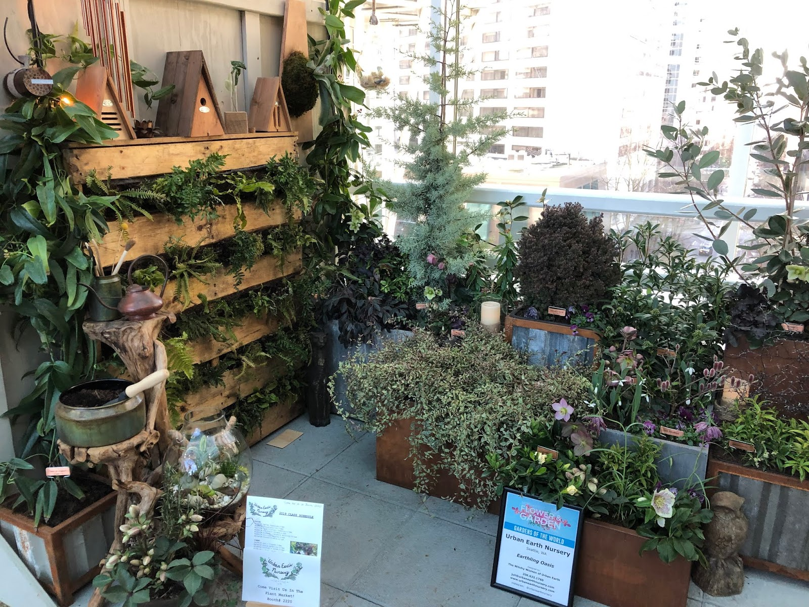 linda letters:: northwest flower and garden show, part 4: city