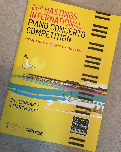 Hastings Piano Concerto Competition finals - Battleaxe's chest expands with pride....
