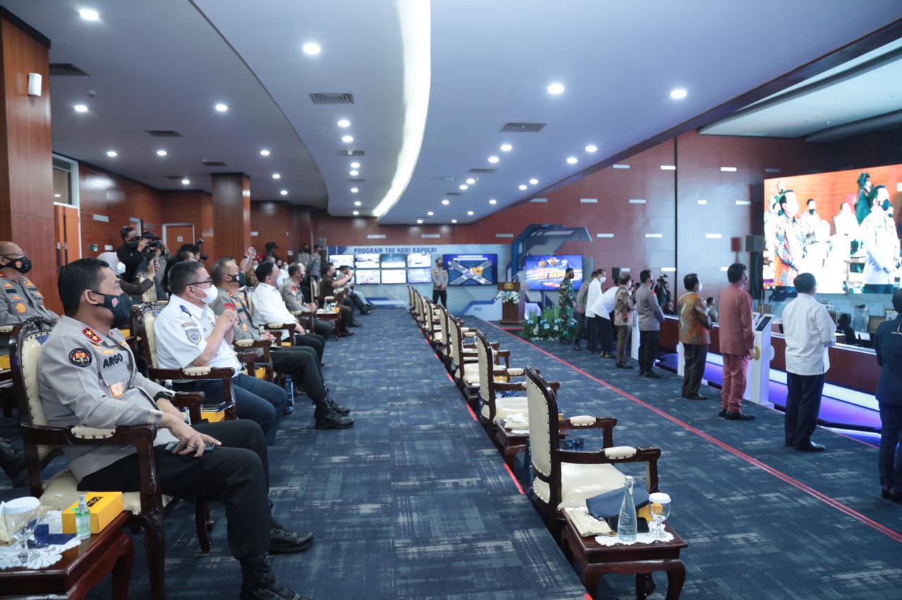 Kapolri Resmi Launching Etle Nasional, 12 Polda Terapkan Tilang Elektronik