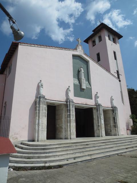 Iglesia Catolica Santa Rita de Casia (Havana) Miramar March 2020