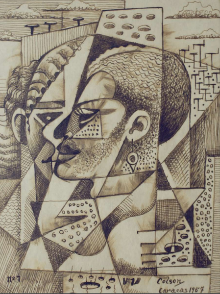 Dibujo: N.- 1, 1957