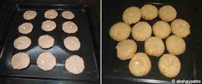 Jowar raagi badam cookies - step 3