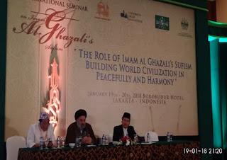 Bersama Ulama Syiah, Kiai Said Aqil jadi Pembicara Seminar Internasional Tasawuf di Jakarta