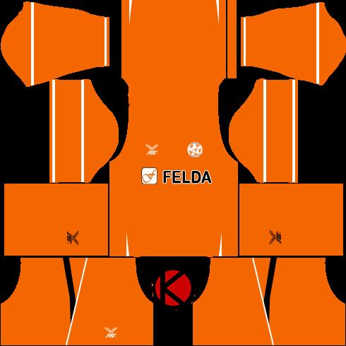 Felda United Kits 2017 | Dream League Soccer