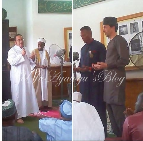 PHOTOS: Three American Lecturers In Atiku's University Convert To Islam In Adamawa
