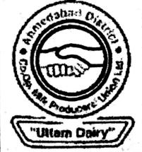 UTTAM DAIRY AHMEDABAD RECRUITMENT 2021
