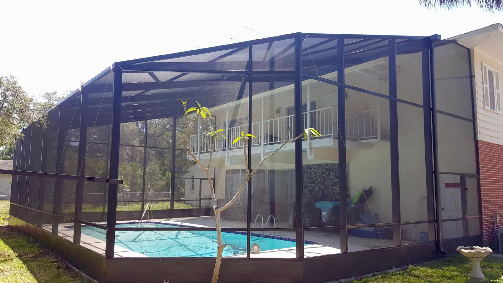 Screen Enclosures Pool Screen Rescreening Re Screening Restore Your Enclosure By Jack Hall Jr S Professional Permanent Installation New Port Richey Land O Lakes Fl 800 741 0068 Ask For Jack
