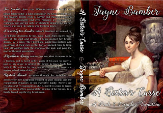 Book cover: A Sister's Curse by Jayne Bamber