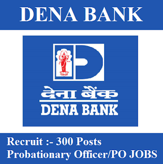 Dena Bank, Bank, PO, Probationary Officers, Graduation, freejobalert, Sarkari Naukri, Latest Jobs, Hot Jobs, dena bank logo
