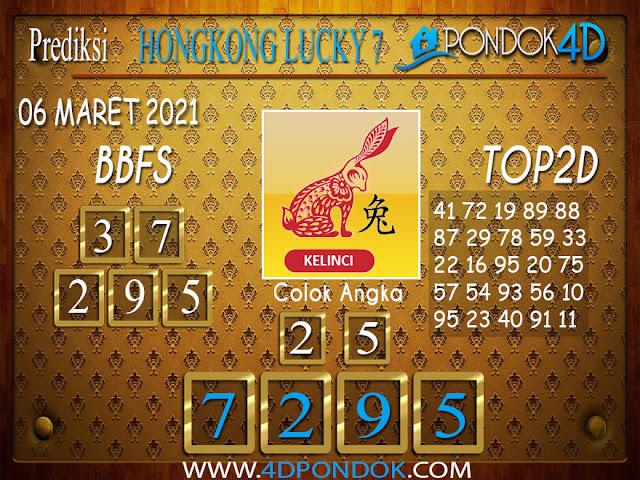 Prediksi Togel HONGKONG LUCKY7 PONDOK4D 06 APRIL 2021