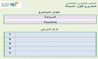 بحث عن السياحة خامسة إبتدائي ، بحث عن السياحة للصف الخامس الابتدائي