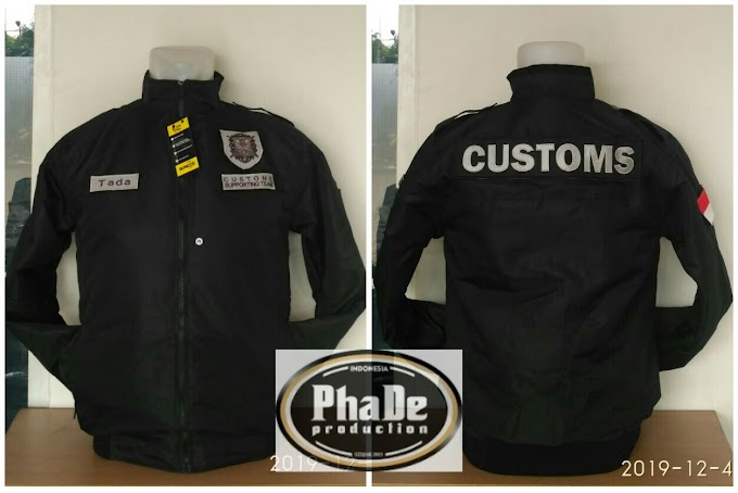 JAKET CUSTOMS SUPPORTING TEAM (CST) BEACUKAI BANDA ACEH
