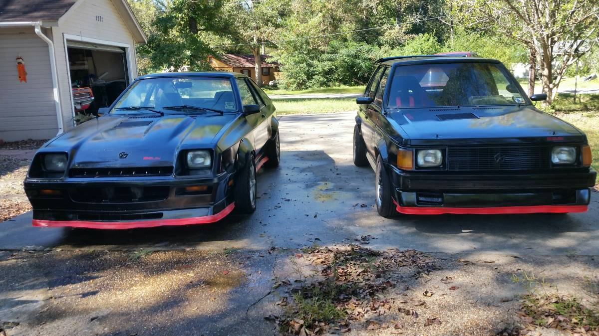Daily Turismo: 1985 Dodge Shelby Charger and 1986 Shelby GLH Turbo