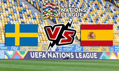 السويد و اسبانيا بث مباشر