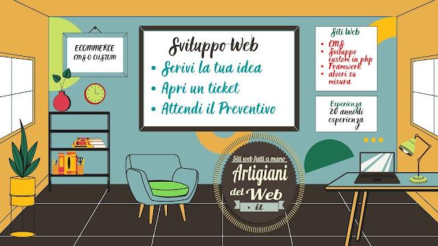 Sviluppo Web su Misura