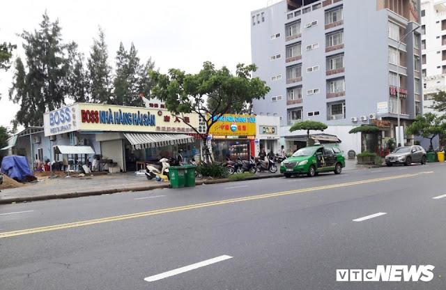 Cận cảnh 'phố người Trung Quốc' cận kề Sân bay Nước Mặn Đà Nẵng 1