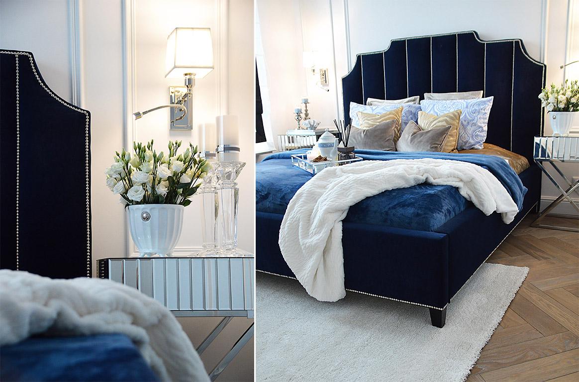 6027d251c6ce28 Sypialnia w błękitach   Zoyka HOME blog wnętrzarski