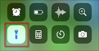 Cara Mengontrol Kecerahan Senter iPhone