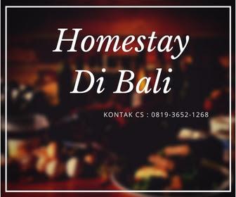 Homestay Dan Penginapan Murah Dekat Kuta Bali