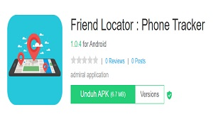 Menggunakan Aplikasi Loc Tracker