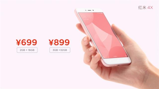 Resmi Keluarga Gres Variant Xiaomi Redmi 4X Telah Resmi Di Perkenalkan 17