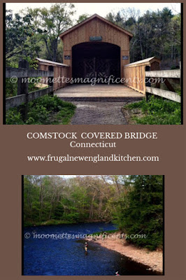 Comstock Covered Bridge Connecticut