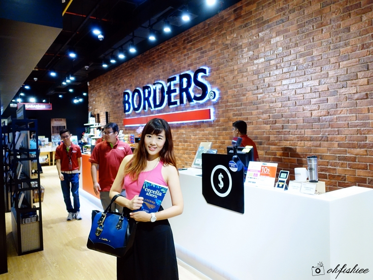 Borders The Gardens Mall 4