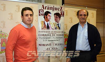 Morante y El Juli en Aranjuez