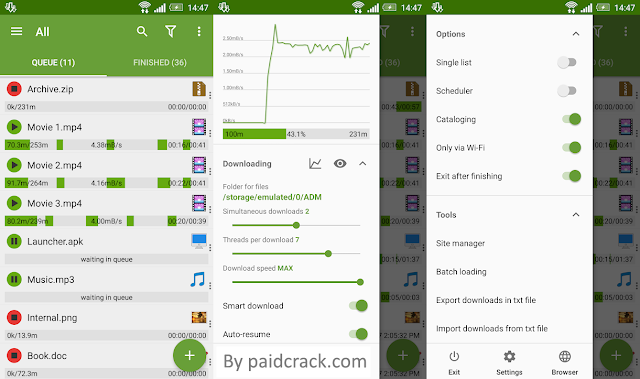 Advanced Download Manager Pro Mod Apk 9.0 (ADM Pro) [Latest Version]