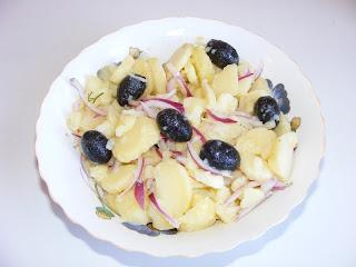 Salata orientala de post retete culinare,