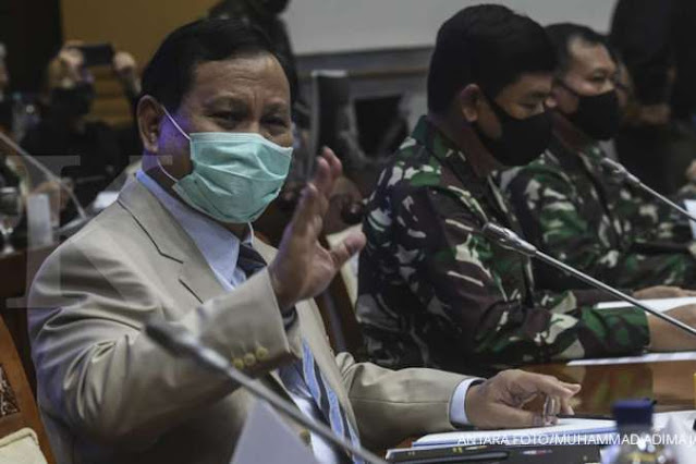Prabowo Ungkap Alasan Dirinya Tak Banyak Bicara sebagai Menhan
