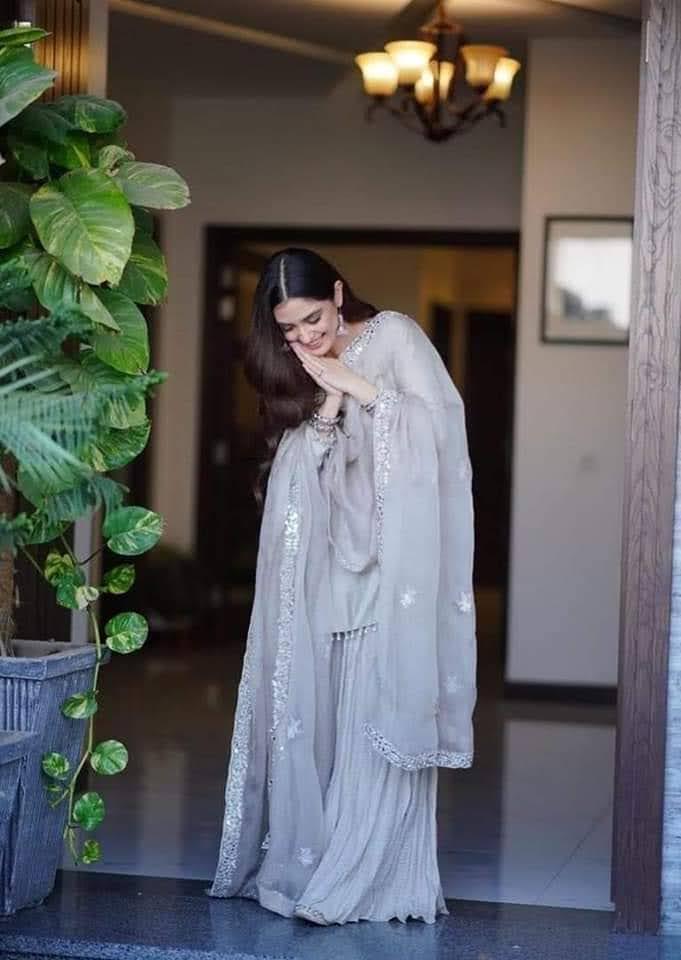 Maya Ali Gorgeous Looks from Eid Day