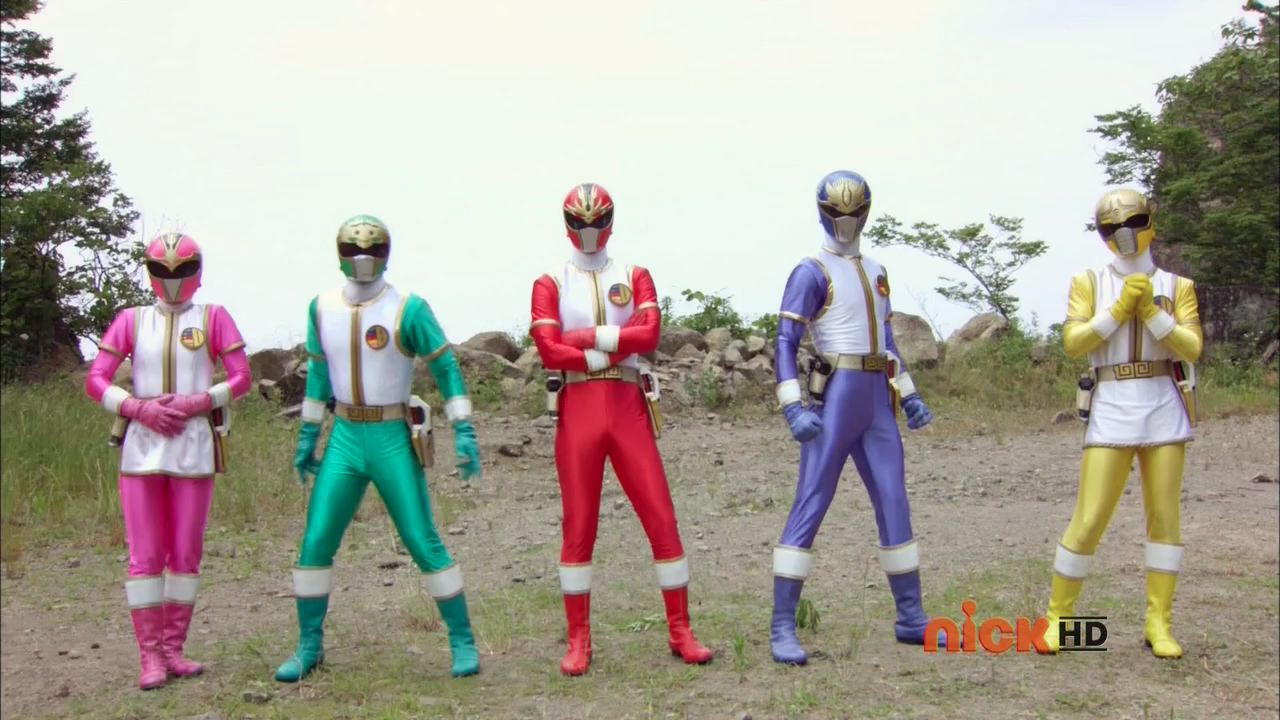 The Dairangers make their Power Rangers debut