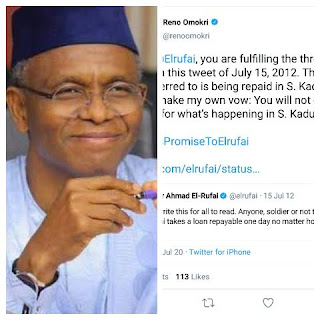 Exposed: El-Rufai  Fulfilling His Vowed To Kill Christians In The Southern Kaduna Back In 2012 When Riot Led To The Death Of Fulani People
