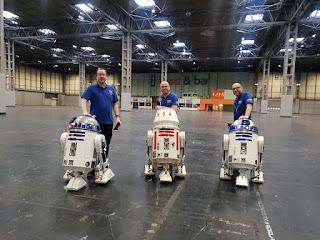 UK R2D2 Builders Club, R5D4, R2D2, Lee Towersey, Darren Poulson