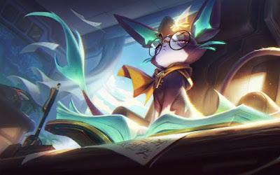 Cat Yuumi là 1 vị tướng new của Game League of Legends