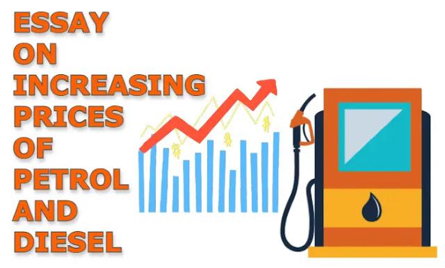 increasing prices of petrol and diesel
