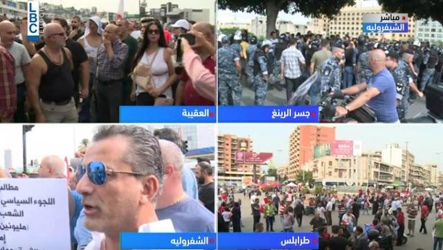 مباشرة من #طرابلس #لبنان_ينتفض